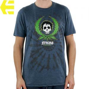 SALE! 【エトニーズ ETNIES スケボー Tシャツ】WEEDY T-SHIRS【ヘザー ブルー】NO21