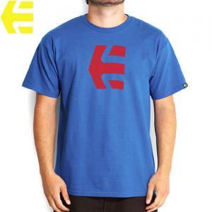 SALE! 【エトニーズ ETNIES スケボー Tシャツ】ICON 10 T-SHIRS【ロイヤル ブルー】NO23