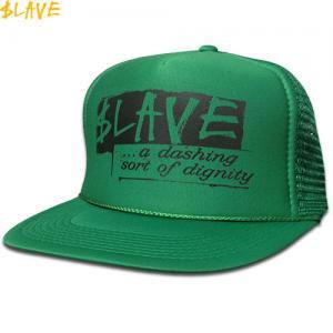 1週間限定セール!【スレイブ SLAVE スケボー キャップ】DIGNITY MESH SNAPBACK CAP【グリーン】NO3