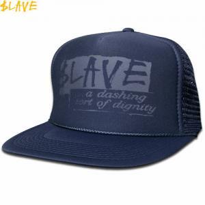 1週間限定セール!【スレイブ SLAVE スケボー キャップ】DIGNITY MESH SNAPBACK CAP【ネイビー】NO4