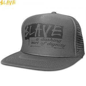 1週間限定セール!【スレイブ SLAVE スケボー キャップ】DIGNITY MESH SNAPBACK CAP【グレー】NO5