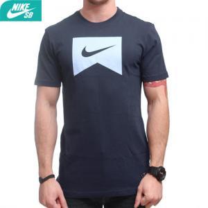 USAモデル【NIKE SB ナイキ エスビー Tシャツ】ICON TEE Shirt【ネイビー】NO29