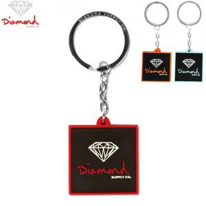 【DIAMOND SUPPLY ダイアモンド キーホルダー】RUBBER 3D BRILLIANT KEYCHAIN NO4
