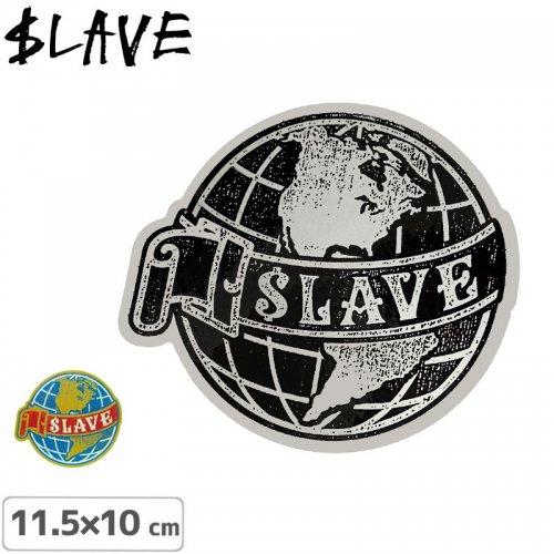 【SLAVE スレイブ スケボー ステッカー】EARTH【2種】【11.5cm x 10cm】NO07