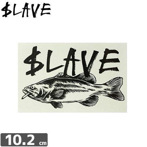 【SLAVE スレイブ スケボー ステッカー】FISH LOGO【6.5cm x 10.2cm】NO10