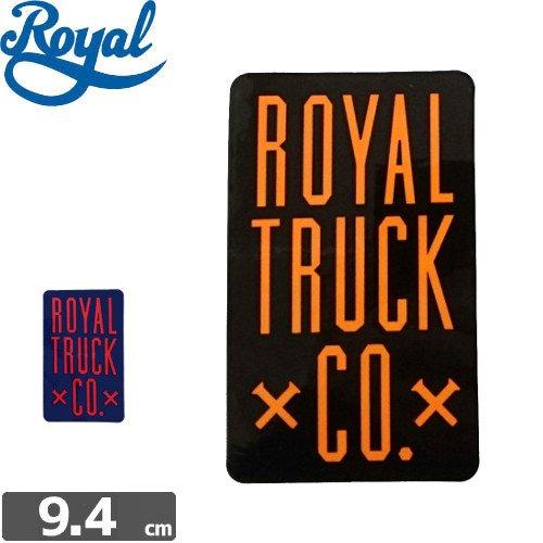 【ROYAL TRUCK ロイヤル ステッカー】ROYAL CO【2色】【9.4cm x 5.9cm】NO1
