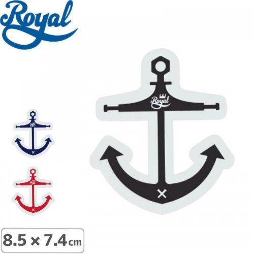 【ROYAL TRUCK  ロイヤルトラック スケボー ステッカー】ANCHOR【3色】【8.5cm x 7.4cm】NO8