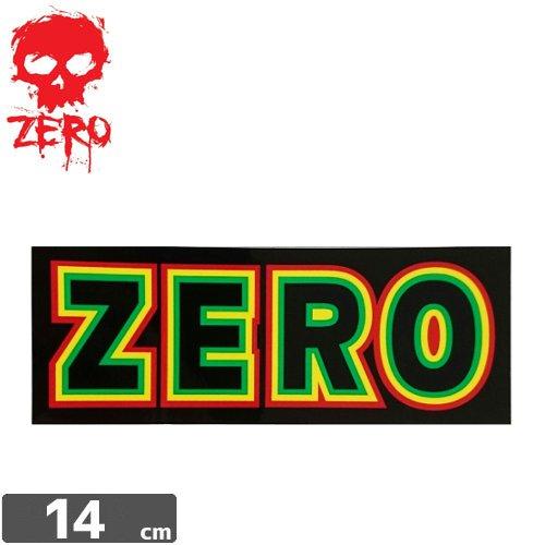 【ゼロ ZERO スケボー ステッカー】RASTA LOGO【5.4cm x 14cm】NO61