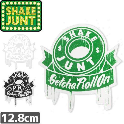 【シェークジャント Shake Junt sticker ステッカー】Getcha Roll On【3色】【12.8cm×11.7cm】No11