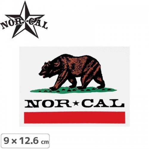 【ノーカル NOR CAL スケボー ステッカー】REPUBLIC【9cm x 12.6cm】 NO13