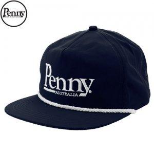 【ペニー PENNY スケボー キャップ】SNAP BACK HAT CAP【ネイビー】NO2