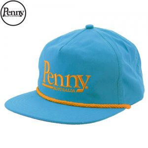 【ペニー PENNY スケボー キャップ】SNAP BACK HAT CAP【ネオン ブルー】NO3