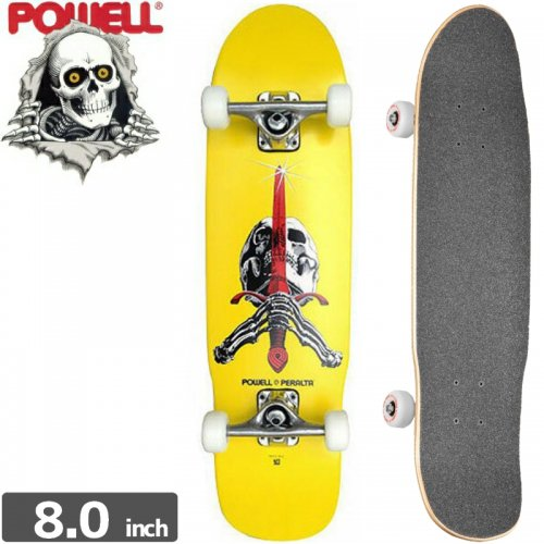 【POWELL PERALTA パウエル コンプリート】ASSEMBLY MINI SKULL AND SWORD[30インチ]NO3