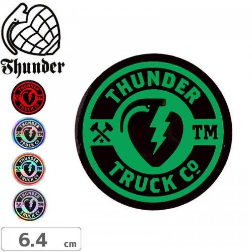 【サンダートラック THUNDERスケボー ステッカー】MAINLINE RAMP【5色】【6.4cm x 6.4cm】NO9
