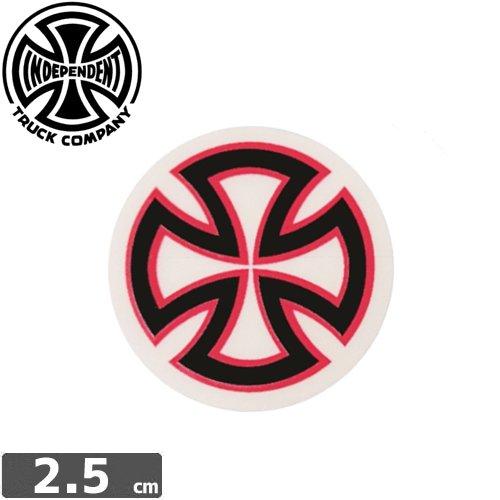 【インディペンデント INDEPENDENT スケボー ステッカー】LOGO【2.5cm x 2.5cm】NO50