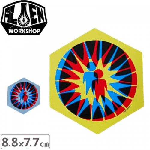 【エイリアンワークショップ ALIENWORKSHOP ステッカー】Starburst【2色】【8.8cm x 7.7cm】NO27
