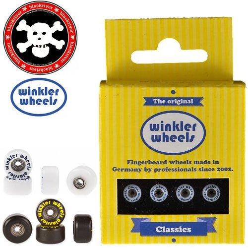 【ブラックリバー BLACKRIVER 指スケ】WINKLER WHEELS CLASSICS【ウィール】【2カラー】NO1