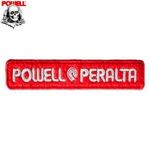 【パウエル POWELL スケボー ワッペン】POWELL PERALTA【2cm x 10.5cm】NO03