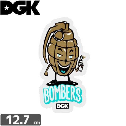 【ディージーケー DGK スケボー ステッカー】BOMBERS【12.7cm x 6.5cm】NO74
