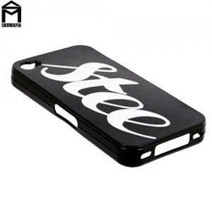 【スケートマフィア SK8MAFIA スケボー ケース】SKATEMAFIA iphone4 Stee Case アイフォン4 ケース【ブラック】NO01