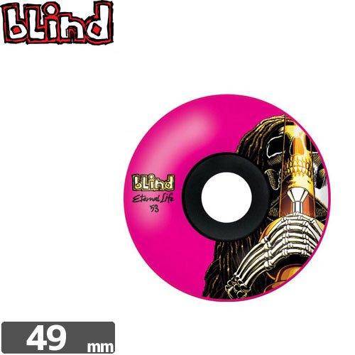 【ブラインド BLIND スケボー ウィール】RASTA SKULL EL WHEEL【49mm 99A】NO13