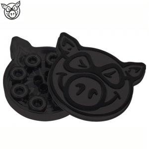 【ピッグ PIG スケボー ベアリング】PIG BLACK OPS【ABEC5】【ブラック】NO09