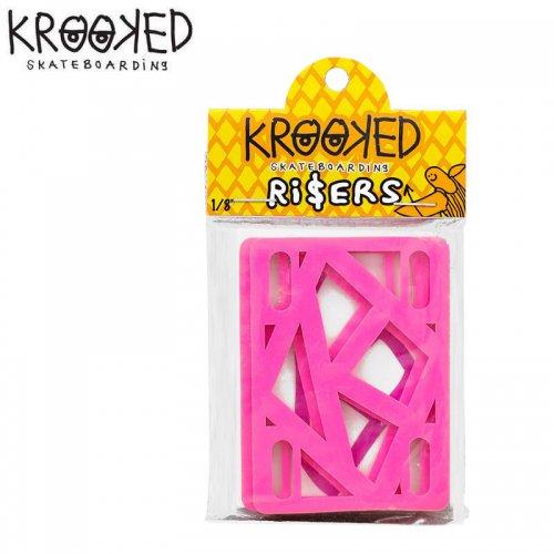 【クルキッド KROOKED ライザーパッド】KROOKED RISER PAD【1/8】NO03