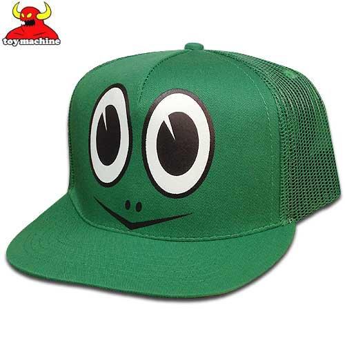 【トイマシン TOY MACHINE スケボー キャップ】TURTLE BOY CAP【グリーン】NO30