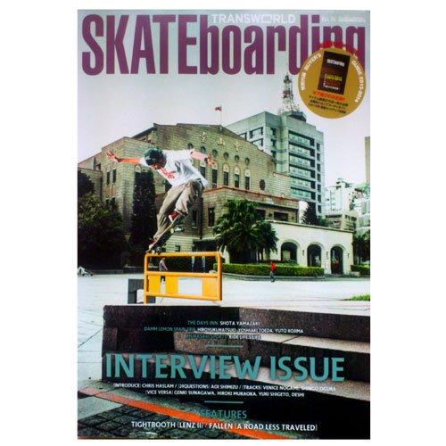 【TRANSWORD SKATEBORDING JAPAN 雑誌】トランスワールド【11月号】NO74