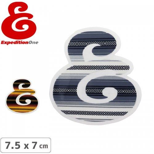 【エクスペディション ワン EXPEDITION ONE ステッカー】LOGO【2タイプ】【7.5cm x 7cm】NO46