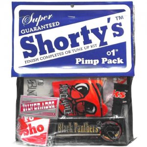 【SHORTYS ショーティーズ スケボー パーツ】PIMP PACK ベアリング&スペアパーツ&DVD NO6