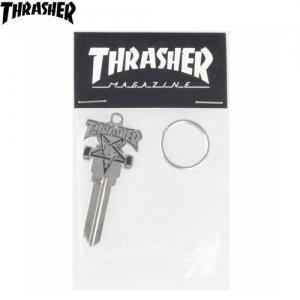 【スラッシャー THRASHER キーホルダー】Skate Goat Key【6cm x 2.5cm】NO04
