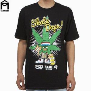 SALE! 【スケートマフィア SK8MAFIA スケボー Tシャツ】SKATEMAFIA Skate Dope Tee【ブラック】NO54
