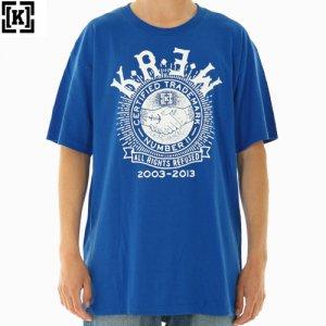 SALE! 【KR3W クルー スケボー Tシャツ】Union Reg Tee【ブルー】NO01