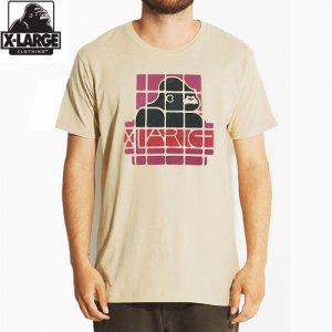 【エクストララージ X-LARGE Tシャツ】SPANISH S/S TEE【TAN】NO22