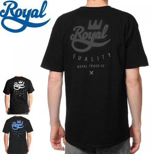 【ロイアル ROYAL スケボー Tシャツ】CROWN CREST TEE【3カラー】NO32