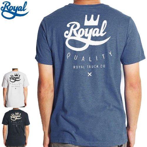 【ロイアル ROYAL スケボー Tシャツ】CROWN CREST TEE【3カラー】NO35