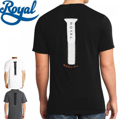 【ロイアル ROYAL TRUCKS スケボー Tシャツ】PARTS TEE【3カラー】NO43