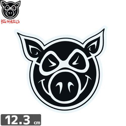 【PIG ピッグ STICKER ステッカー】LOGO【11.5cm x 12.3cm】NO13