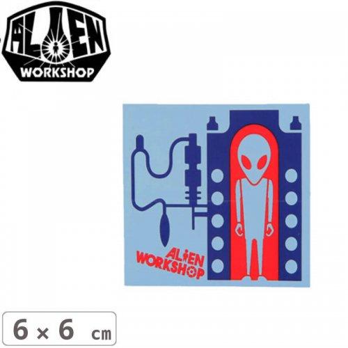 【エイリアンワークショップ ALIENWORKSHOP ステッカー】INCUBATOR【6cm x 6cm】NO29