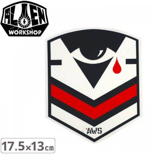【エイリアンワークショップ ALIENWORKSHOP ステッカー】PSYOPS【17.5cm x 13cm】NO30