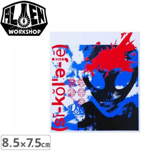 【エイリアンワークショップ ALIENWORKSHOP ステッカー】PSYCHOLOGY【8.5cm x 7.5cm】NO32