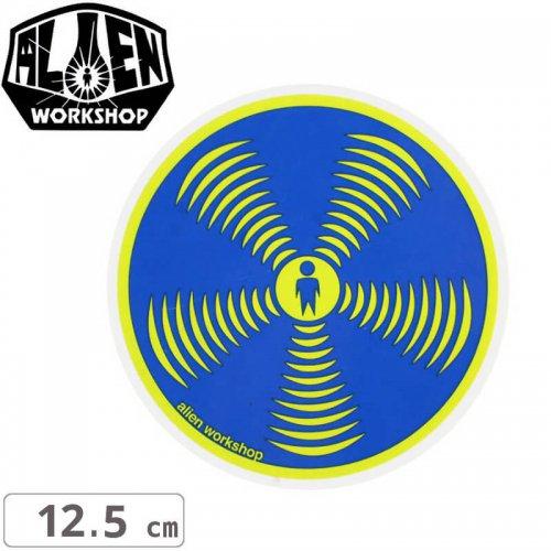 【エイリアンワークショップ ALIENWORKSHOP ステッカー】SONIC【12.5cm x 12.5cm】NO35