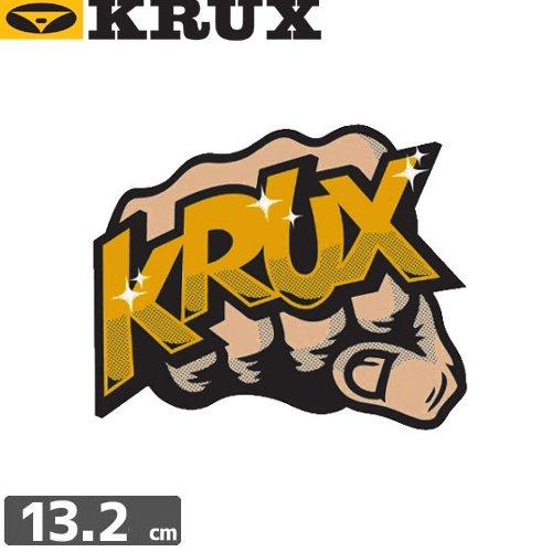 【クラックス KRUX STICKER ステッカー】BUM RUSH【10.6cm x 13.2cm】No04