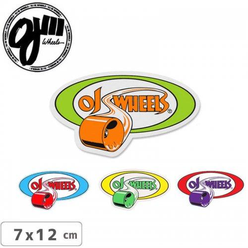 【オージェイ OJ3 スケボー ステッカー】ROLLING【4色】【7cm×12cm】NO9