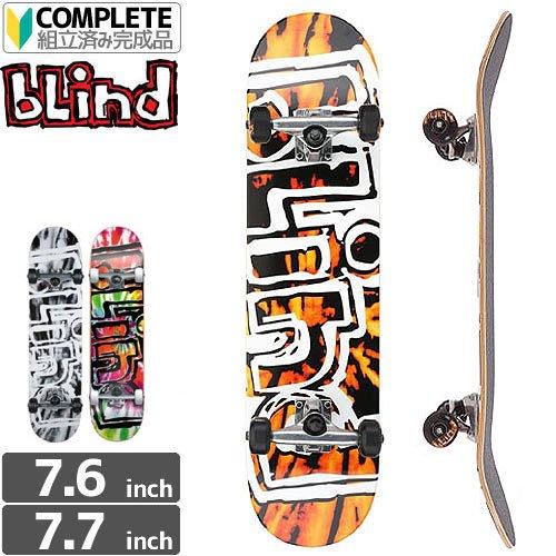 【ブラインド BLIND スケボー コンプリート】HEADY TIE DYE COMPLETE【3カラー】[7.7インチ]NO67
