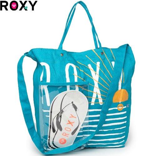 【ロキシー ROXY バッグ】GETAWAY BAG トートバッグ【CAPRI BLUE】NO43