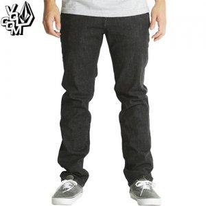【ボルコム VOLCOM ボトム】NOVA JEANS BLACK デニム ジーンズ パンツ【ブラック】NO17