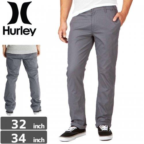 【ハーレー HURLEY ボトム】CORMAN 2.0 PANT ストレッチ パンツ【グレー】NO18
