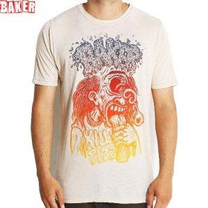 SALE! 【BAKER ベーカー スケボー Tシャツ】BAKER FRYCLOPS TEE【クリーム】NO39